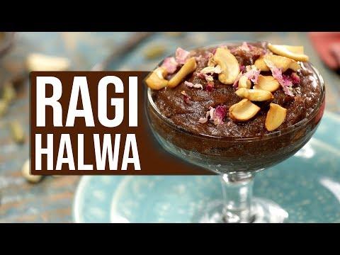 ragi-halwa-|-how-to-make-ragi-halwa-|-ragi-halwa-recipe---healthy-indian-sweet-dish