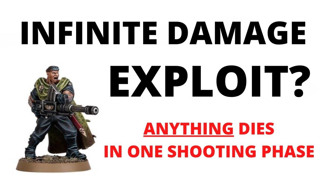 Infinite Damage Exploit? Trooper Bragg's Frag Grenades seem to kill ANYTHING