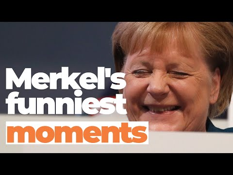 Angela Merkel's funniest and most genuine moments