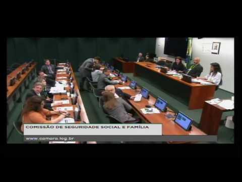 SEGURIDADE SOCIAL E FAMÍLIA - Reunião Deliberativa - 09/08/2016 - 09:52