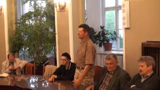"""CZ.8 PROMOCJA KSIĄŻKI """"STEPAN BANDERA W KIJOWIE"""", W WARSZAWIE DNIA 12. MAJA 2014 ROKU."""