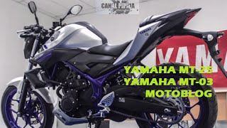 Yamaha MT-25, MT-03// Motoblog Colombia