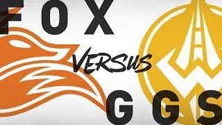FOX vs. GGS - Week 2 Day 2 | NA LCS Summer Split | Echo Fox vs. Golden Guardians (2018)
