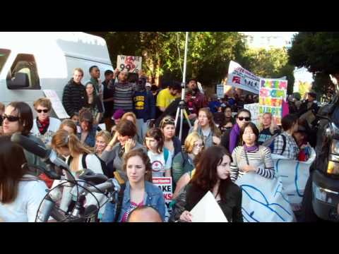 Occupy Cal march with Occcupy San Francisco