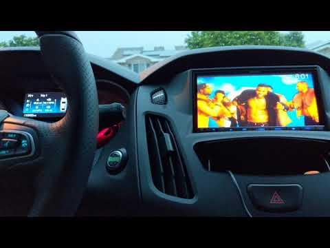 Ford Focus ST IDatalink Dash Kit With Maestro Unit Installed