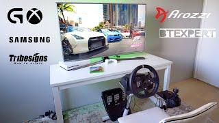 Racing Simulator Setup - Logitech G920 G29 - G Shifter