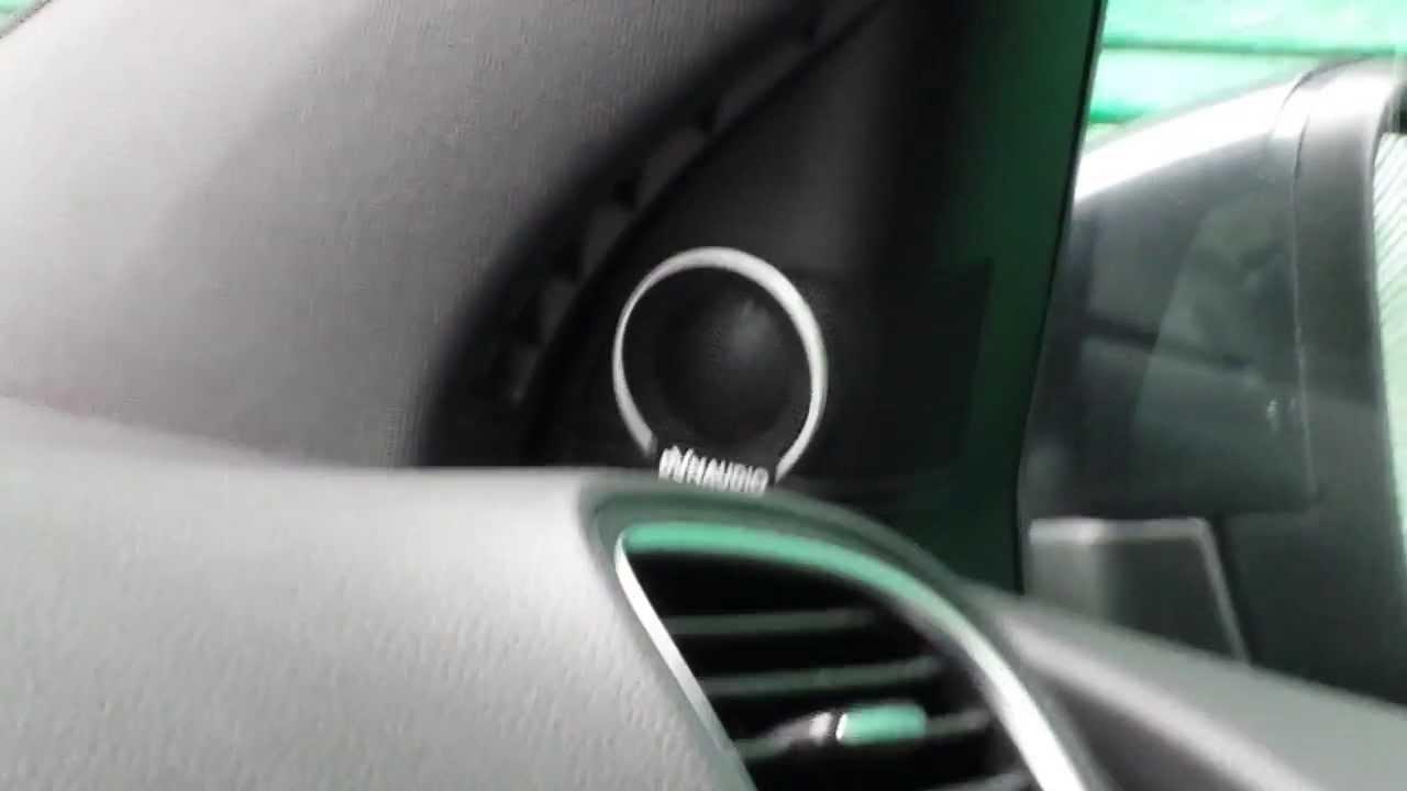 Golf 6 GTD Dynaudio Sound - YouTube
