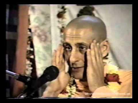 Radhanath Swami at Abhaycharan Das's Residence on 3rd Feb 1990 - Part 01