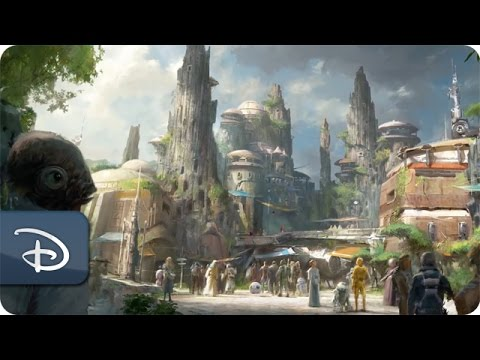 Thumbnail: Disney Parks Imagineers and Lucasfilm Collaborate on Star Wars-Themed Lands
