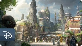 Disney Parks Imagineers and Lucasfilm Collaborate on Star Wars-Themed Lands