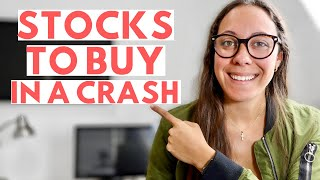 6 Stocks To Buy In A Market Crash