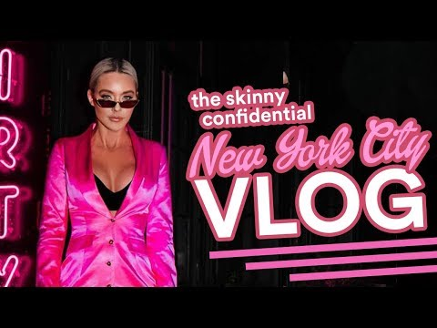 ELEMIS NY VLOG- 36 HOURS IN NYC: THE SKINNY CONFIDENTIAL MEET UP