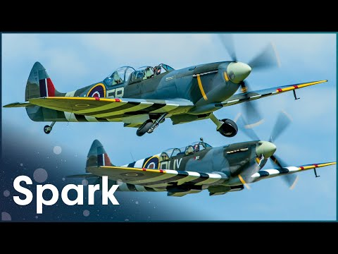 The Restoration Of Historic Fighter Planes | Classic Fighter | Spark