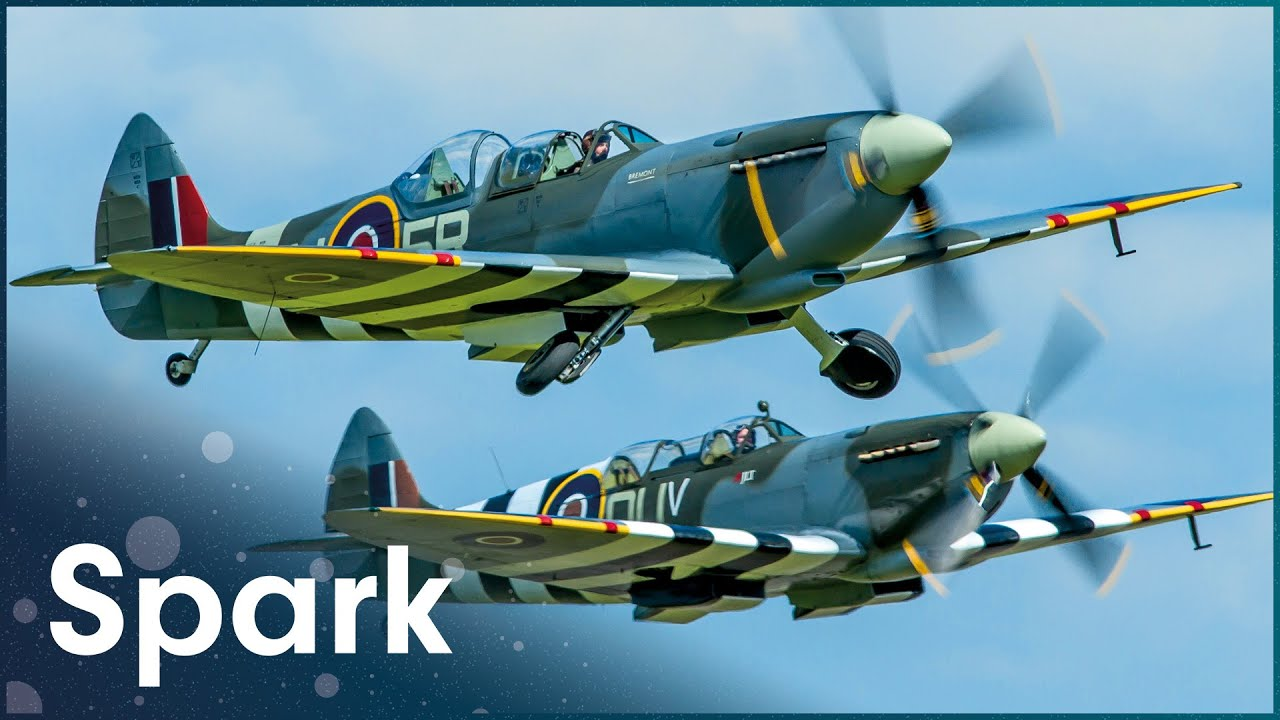 How Did Fighter Planes Stay In The Air During WW2? | Classic Fighter | Spark