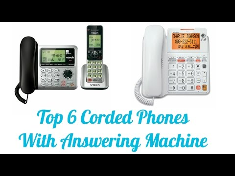 Best Corded Phones With Answering Machine