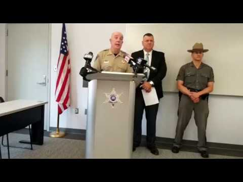 Human trafficking investigation news conference