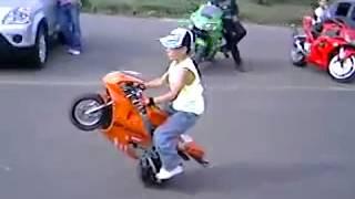 Dhoom 3 Pocket Bike in Aamir Khan, Katrina Kaif