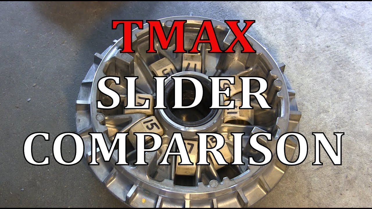 TMAX 500 Slider Weight Comparison (15-17g + 19g Roller Weights)