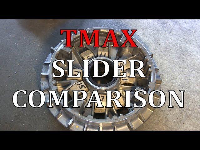 TMAX 500 Slider Weight Comparison (15-17g + 19g Roller Weights)