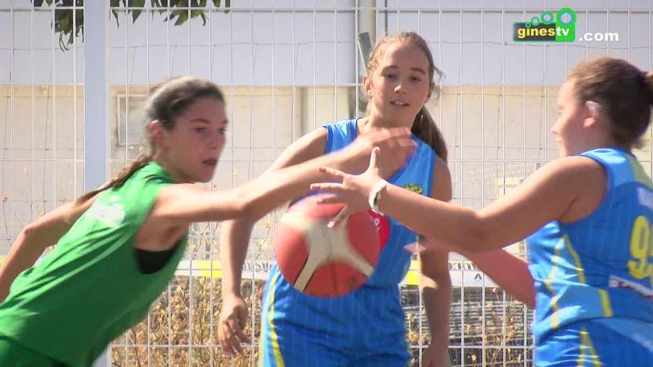 El CD Gines Baloncesto y Gines Plaza inauguraron su colaboración con un Torneo 3x3