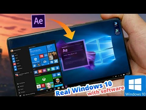 [DOWNLOAD] Real Windows 10 & All Software's On Any Android Phone- NO ROOT 2020 BEST 😘