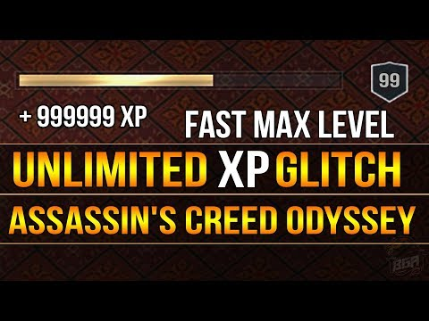 Assassin's Creed Odyssey - Unlimited Xp Glitch | Ac Odyssey | BEST GLITCH 2019 [PATCHED]