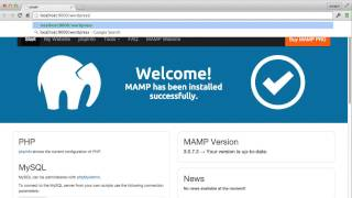 How to Install MAMP and WordPress on your computer