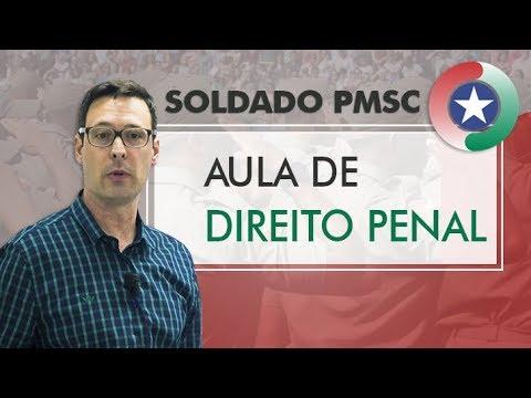 Concurso Soldado PMSC - Aula de Direito Penal