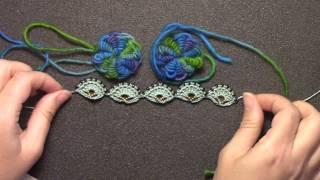 Cross Craft Sundays: Crochet Part 4 - Oya and a Bullion
