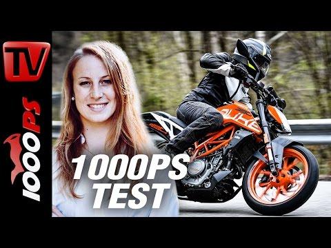 1000PS Test | KTM 390 Duke - maximaler Fahrspaß und unglaubliches Handling!