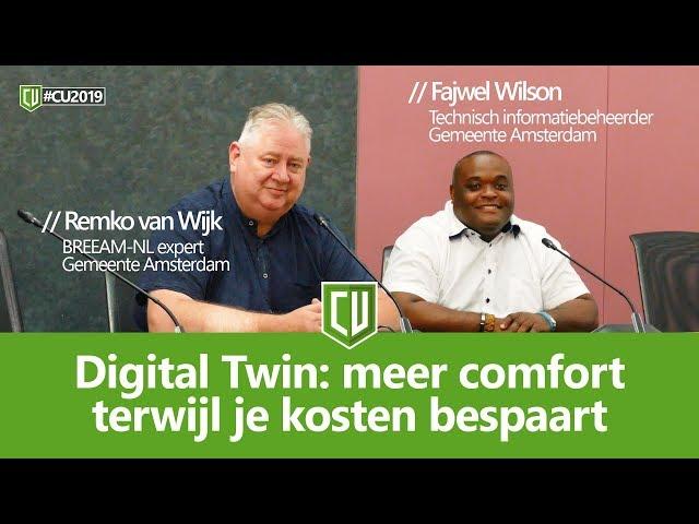 Digital Twin: meer comfort terwijl je kosten bespaart | #CU2019