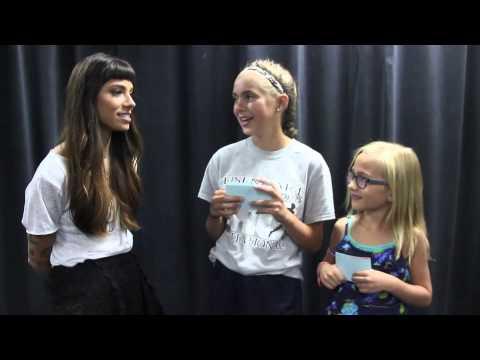 Kids Interview Bands - Christina Perri