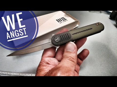 WE Angst by Justin Lundquist Knife Review