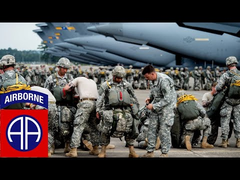 82-я воздушно-десантная дивизия Армии США на учениях / 82nd Airborne Division