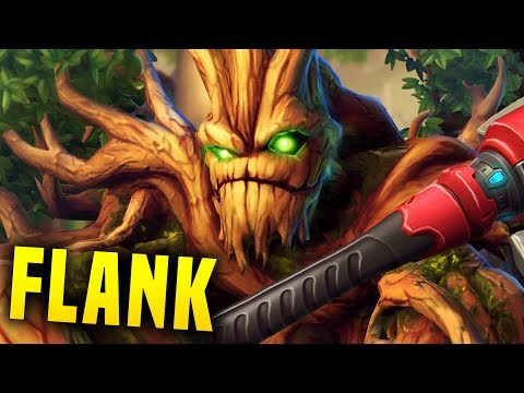 Flank Grover?! Why Does This Work?! | Paladins Grover Gameplay & Build