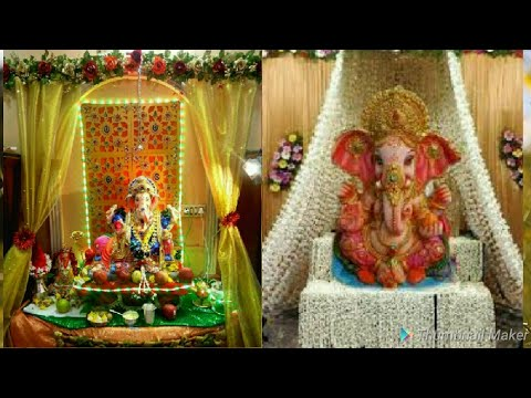 Ganpati Decoration Ideas For Home Ganesh Chaturthi Makhar Decoration Ideas Youtube,Simple 3 Bedroom House Plans With Photos