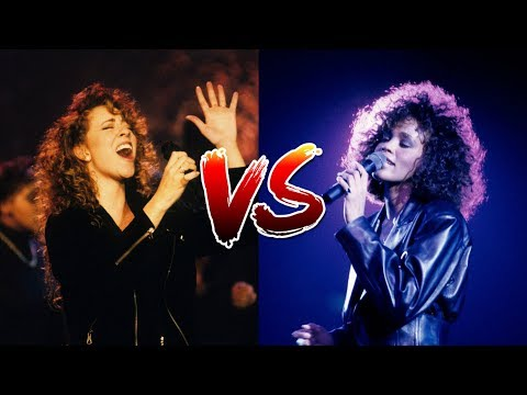 Whitney Houston Vs. Mariah Carey (Record Sales, Live Vocals, Live Performances)