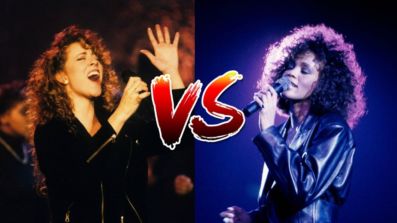 Whitney Houston Vs. Mariah Carey (Record Sales, Live Vocals, Live Performances)
