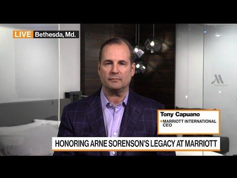 Marriott CEO Capuano on Arne Sorenson, Travel, Expansion
