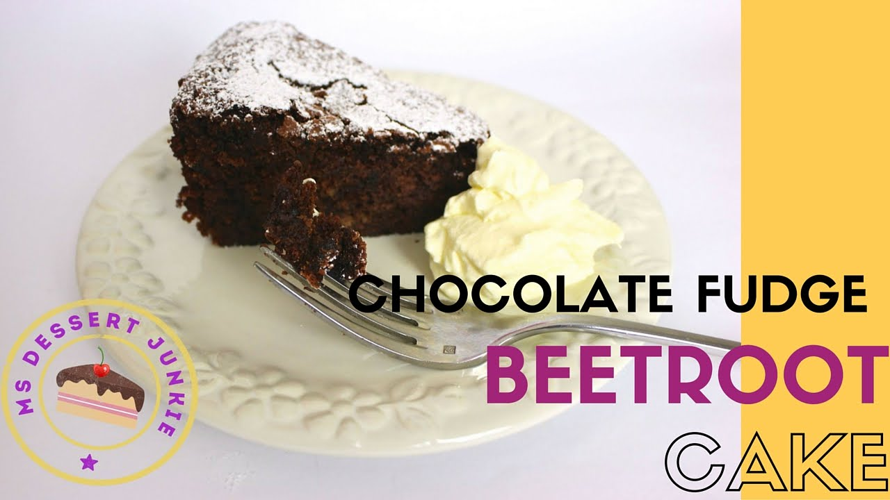 Low Fat Chocolate Beetroot Cake Recipe