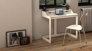 Modern Desk Design: Plane Desk By German Designer Felix Stark