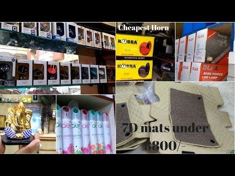 Supermarket of car accessories   Kashmiri Gate Part 2