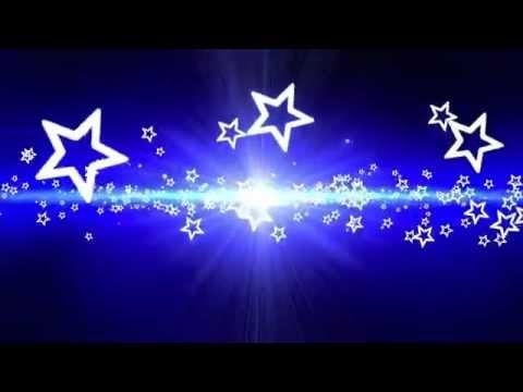 Plano De Fundo Azul Com Estrelas YouTube