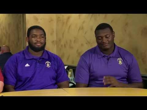 Prep Recruiting Insider  - Hahnville  Offensive Tackle Larry Dixon & Guard Torin Borne