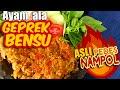 Resep Ayam Crispy ala GEPREK BENSU plus sambal LEVEL10!