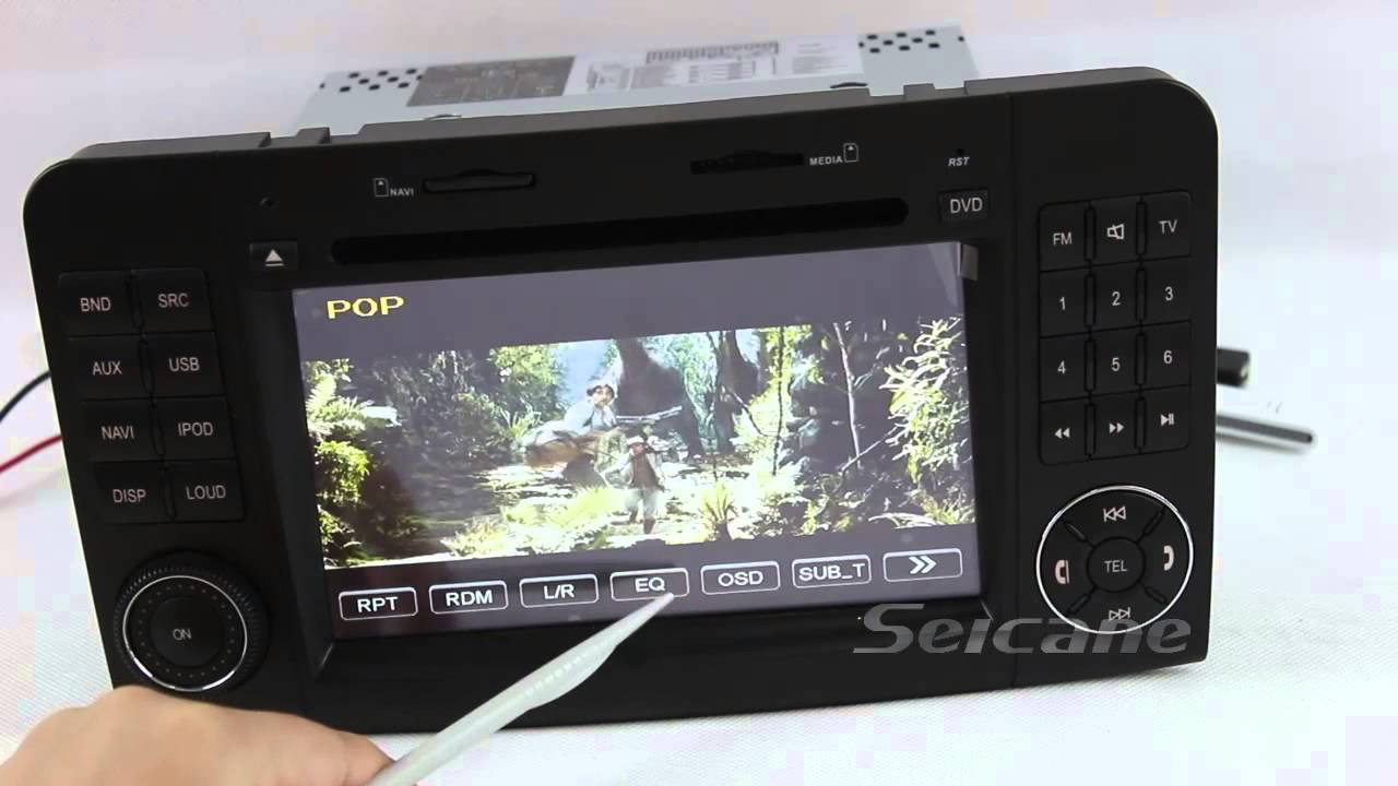 Car stereo install upgrade for mercedes benz gl class x164 for Mercedes benz audio upgrades