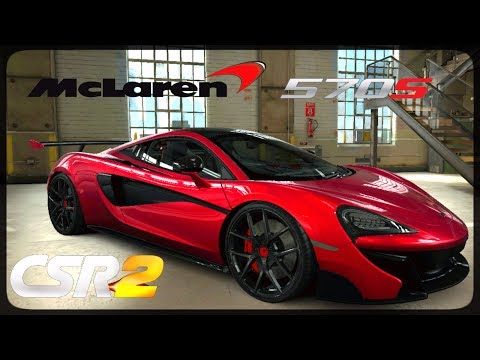 CSR Racing 2 - McLaren 570s-VX delivery and live races - Milestone prize