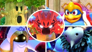 Kirby Star Allies - All Bosses + Secret Bosses