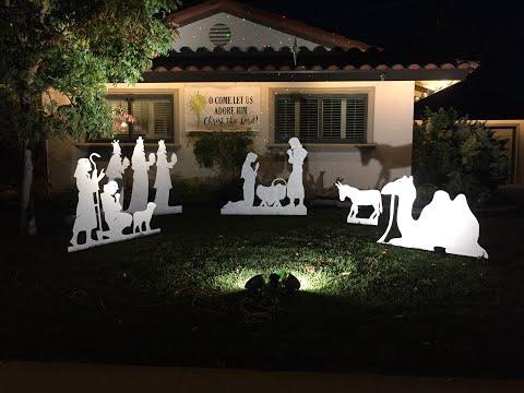 DIY Nativity Scene (FREE PATTERN)