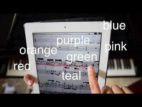 How I Mark My Scores with ForScore (iPad)